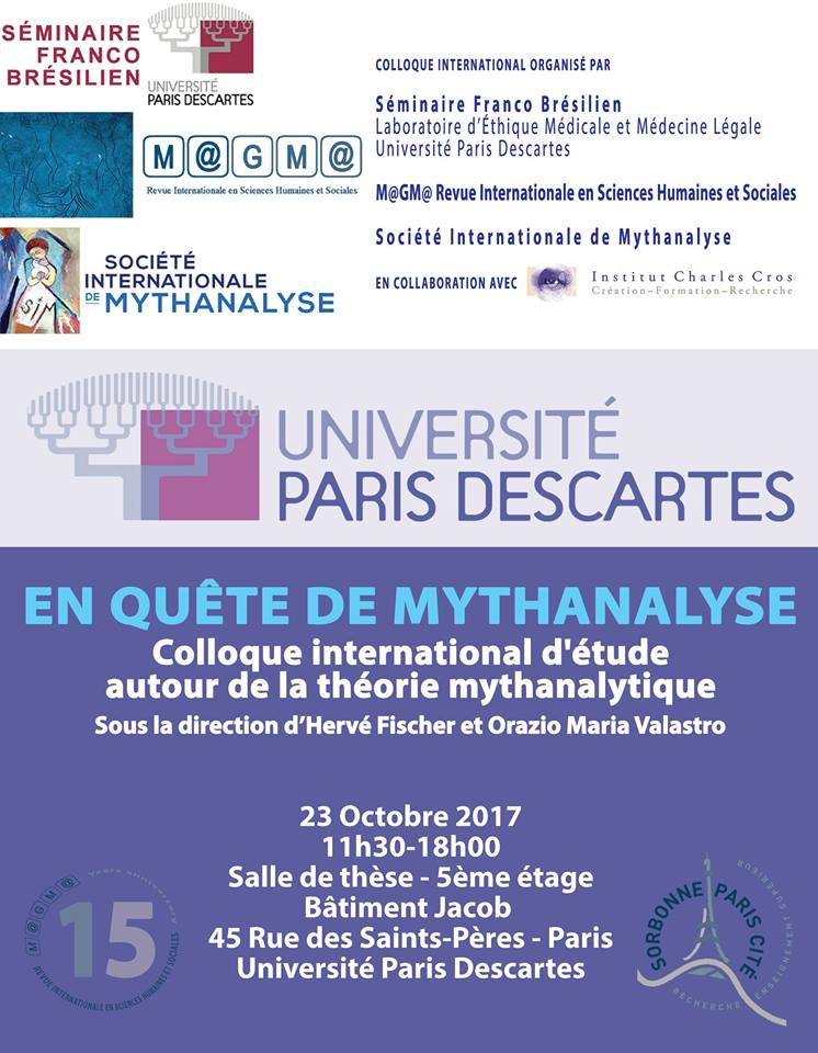 Colloque international En quête de mythanalyse